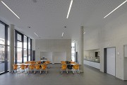 St. Leonhard-extension: school-canteen, total view towards East 2