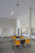 St. Leonhard-extension: school-canteen, eastern wall