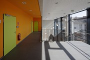 St. Leonhard-extension: cut floor/stair-house