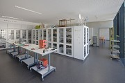 St. Leonhard-extension: 2nd floor physical collection 2