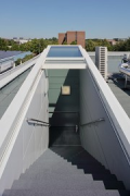 TBZ of IHK-Cologne: roof-exit