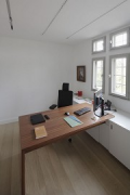 Tebartz-van Elst: frame house: small office at the first floor