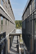 TechMed Centre, Enschede: southern building separation gap