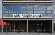 TechMed Centre, Enschede: main entrance