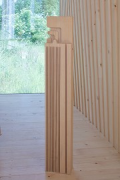 Timber Prototype House, Apolda; IBA Thüringen: CNC-milled mock-up beam