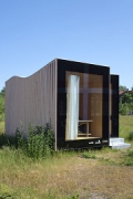 Timber Prototype House, Apolda; IBA Thüringen: southern view, zoomed