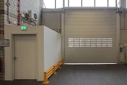 Novoferm tormatic: outer rolling gate with fire-protection-lock