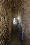 Aachen town-hall, inside Granus-tower: 2rd-floor side-corridor