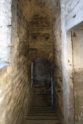 Aachen town-hall, inside Granus-tower: basement access