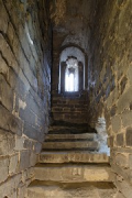 Aachen town-hall, inside Granus-tower: 1st-floor access