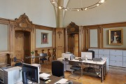 Aachen town-hall: Lord Mayor's anteroom, reconstruction of a historical photo