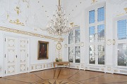 Aachen town-hall: white chamber, north-western room-corner