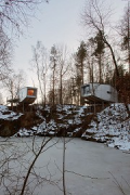 baumhaus lodge: 2nd unit, cliff-houses, northern view, total
