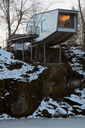 baumhaus lodge: 2nd unit, eastern cliff-house, northern view