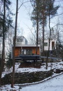baumhaus lodge: 1st unit, western view, total
