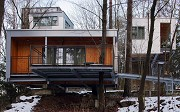 baumhaus lodge: 1st unit, western view, zoomed