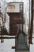 baumhaus lodge: 1st unit, tower-house, southern view