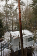 baumhaus lodge: 1st unit, foundation-house, roof-top view