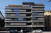 Walo House, Zurich: frontal north-eastern view