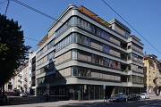 Walo House, Zurich: eastern view from Limmatstrasse