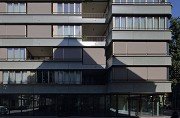 Walo House, Zurich: partial view of Klingenstrasse
