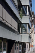 Walo House, Zurich: north-eastern façade alignment